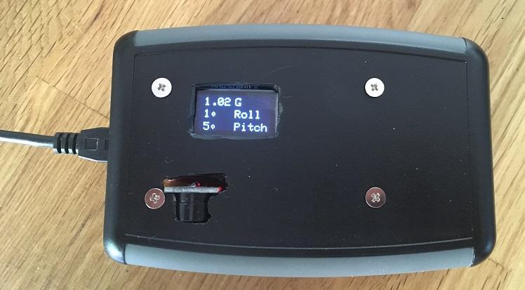 Arduino Inclinometer