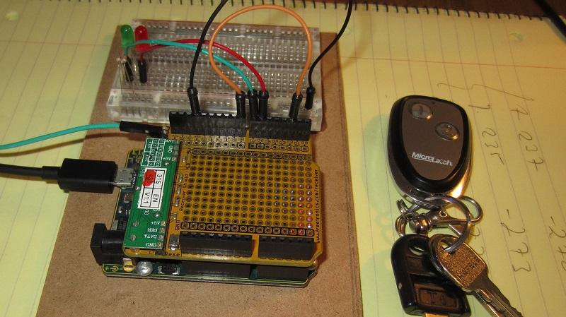 Arduino 433Mhz Receiver -- Reading Keyfobs